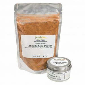 organic annatto achiote powder