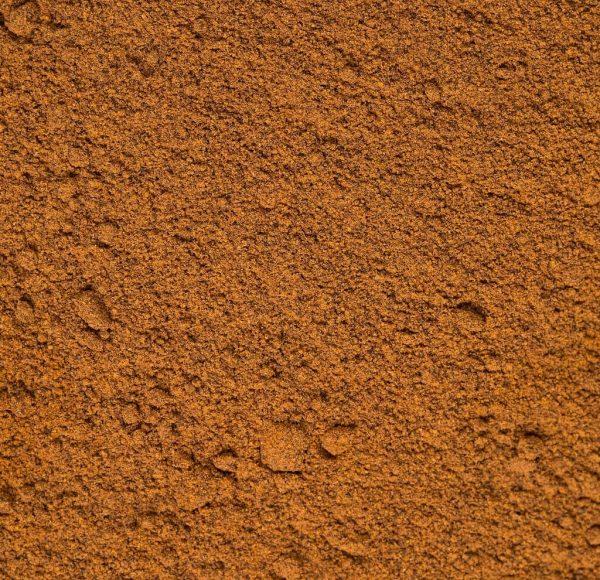close up annatto powder achiote