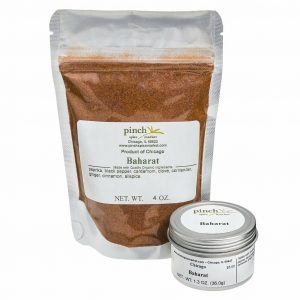 organic baharat spice mix