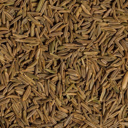 dried whole organic caraway seeds