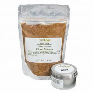 organic chaat masala indian spice