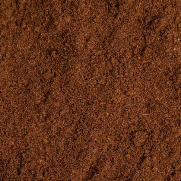 close up of organic berbere blend