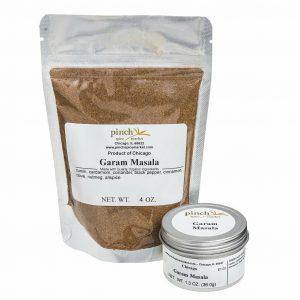 organic garam masala spice blend