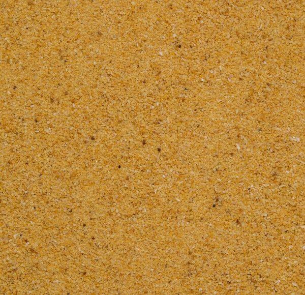fresh organic california garlic granules close up