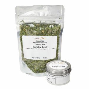 organic parsley from Israel