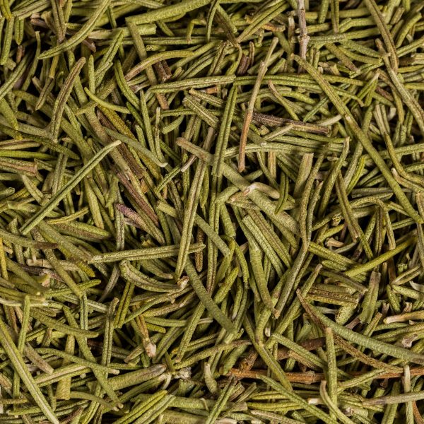organic rosemary close up dried