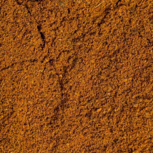 organic Indian vindaloo spice close up