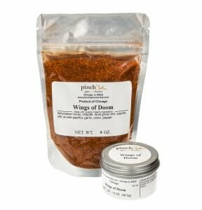 hottest chicken wing spice organic