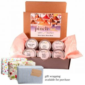 kitchen cooking spice gift box