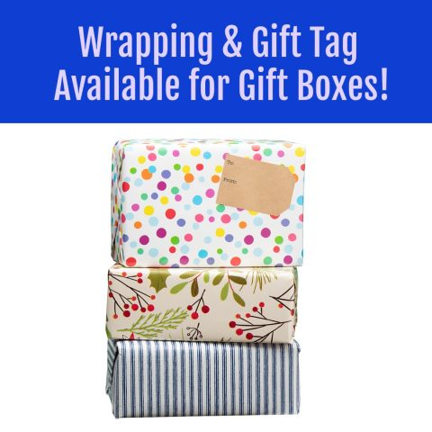 gift wrap box for spice present