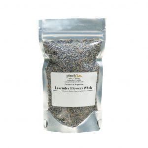 organic Argentinian lavender in bag