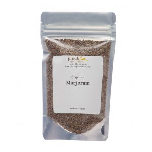 A bag of organic marjoram