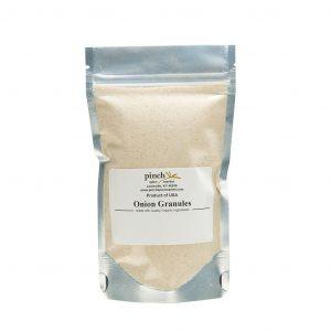 US grown certified organic onion granules