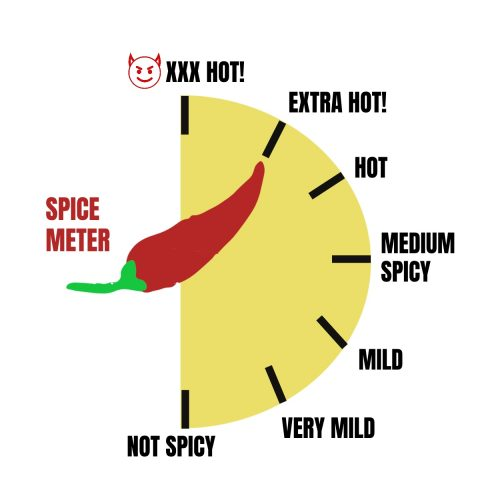 very hot spice