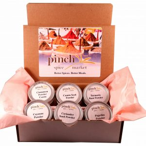 classic essential spices in gift box