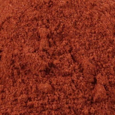 close up of turmeric latte drink mix
