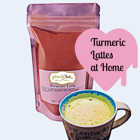 turmeric latte pepper mix