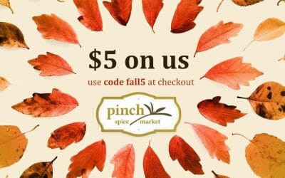 Here's $5 On Us to Try Our Fall Flavors