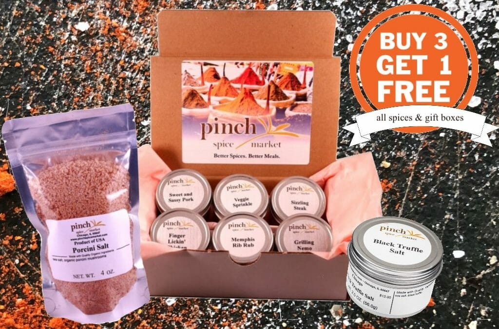 #ShopSmall, Give Big: Buy 3, Get 1 Free (all products)