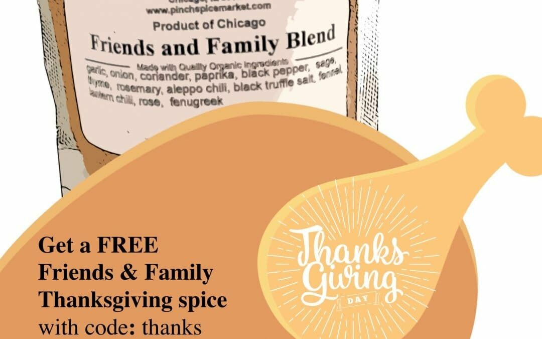 Free Thanksgiving Spice With Code: thanks
