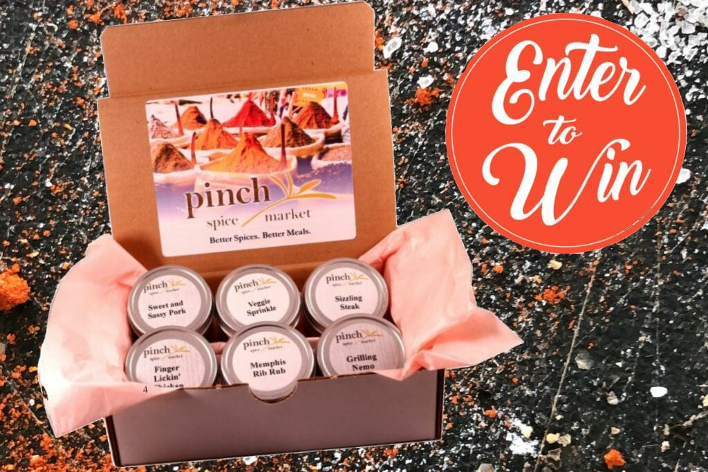 WIN a Spice Gift Box! (Congrats to Elizabeth R. from CA!)