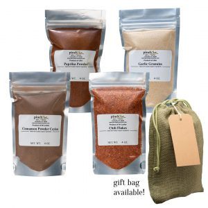 organic spices pack of four