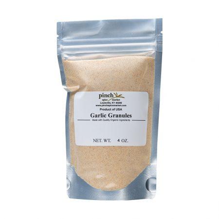 organic garlic granules california usa