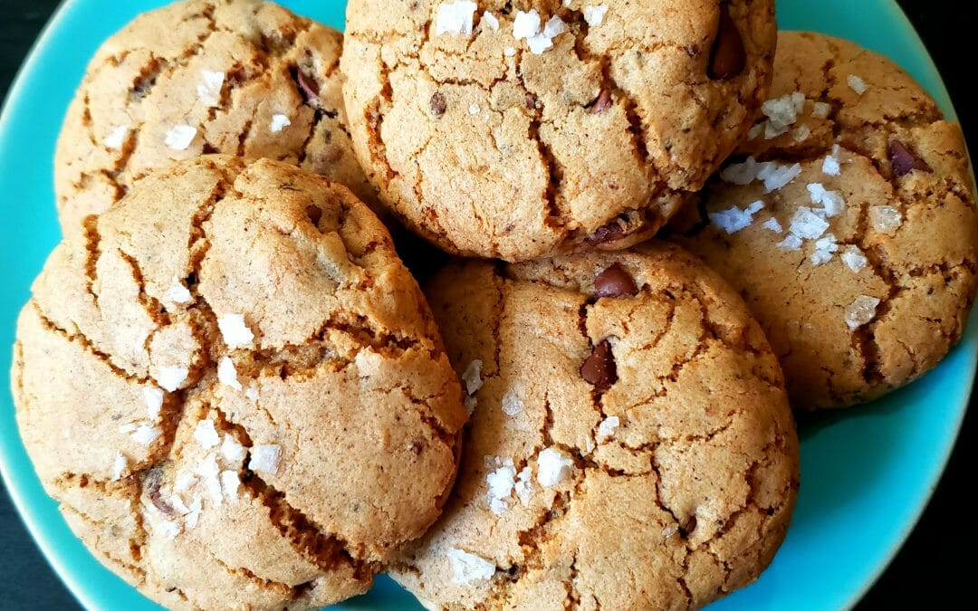 "Dirty ""Chai Town"" (Masala) Mocha Latte Cookies"