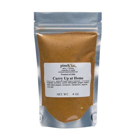 quarantine curry powder mix