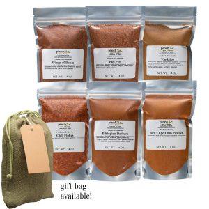 spiciest spices set of six hot blends