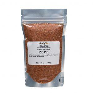 very hot piri piri chili chicken spice