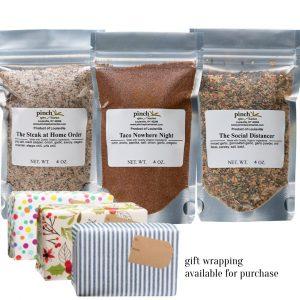 COVID pandemic gift quarantine meal seasonings
