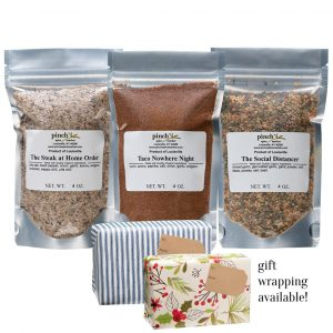 quarantine pandemic cooking spices gift