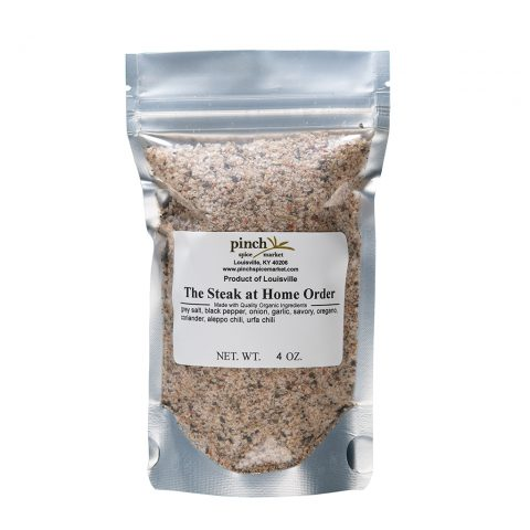 organic spices for steak and meat