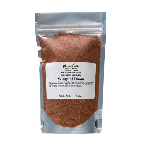 spice mix for hottest chicken wings