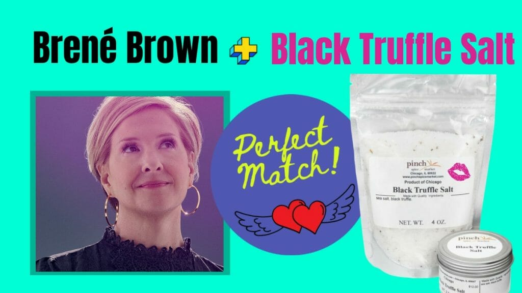 Brene Brown spice cooking match