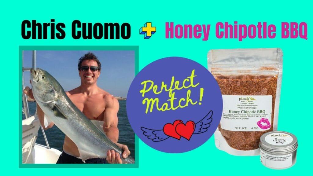 celebrity spice match chris cuomo bbq