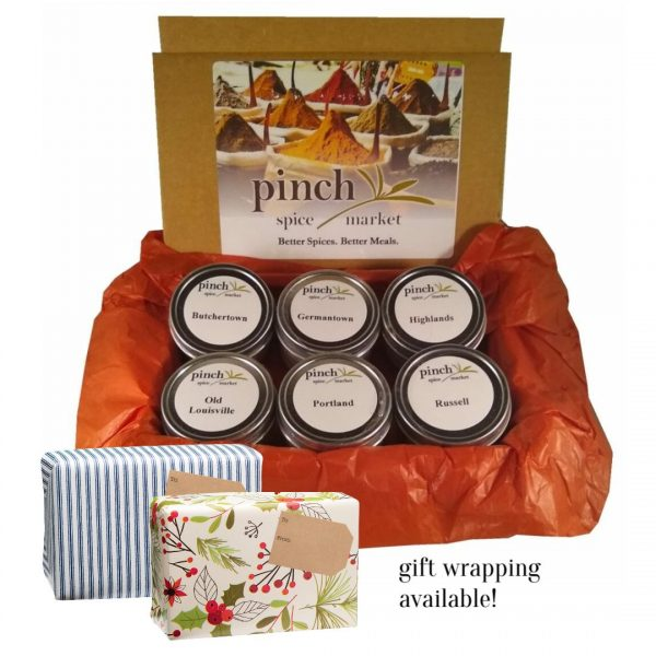 Made in Louisville gift box neighborhood organic spices