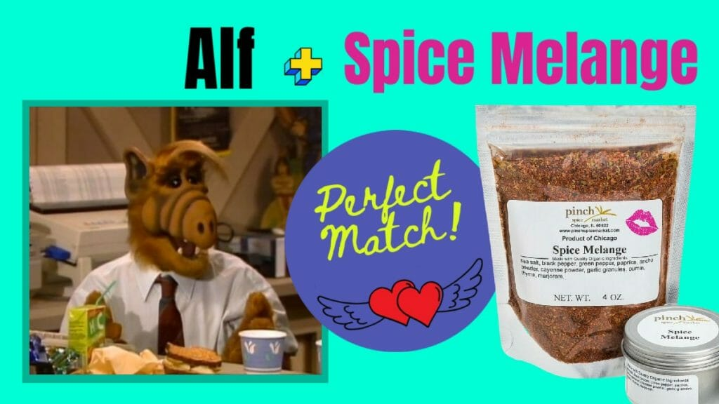 alf celebrity organic spice match