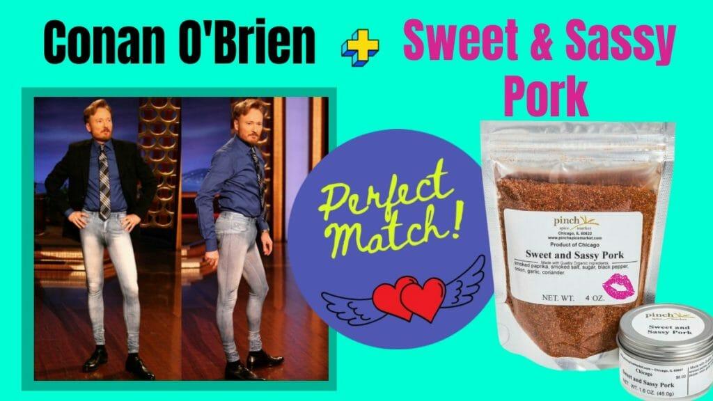 conan organic spice match up
