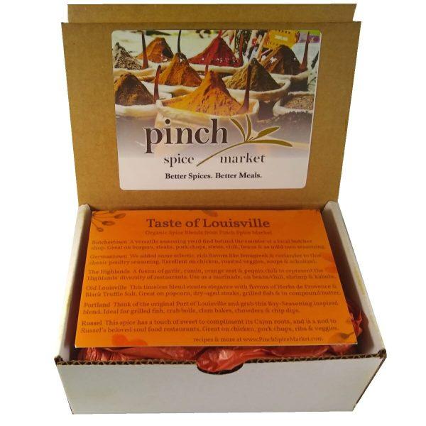 taste of louisville neighborhood spice gift box