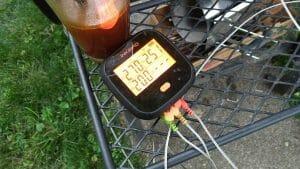 temperature hits 200