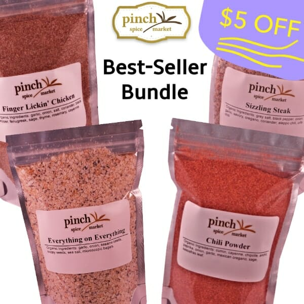 $5 off best selling spices (4 pack)