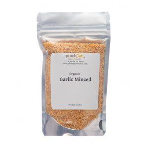 certified organic California minced garlic