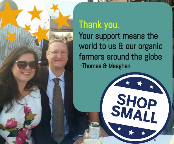 thank you for supporting our small business