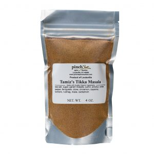 organic tikka Indian spice