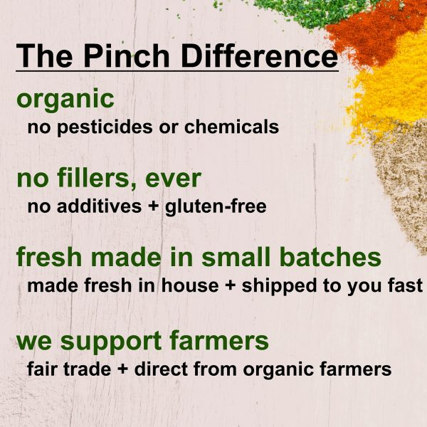 pinch organic fair and direct trade difference