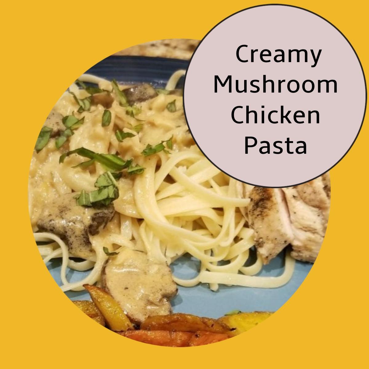 chicken and pasta dish