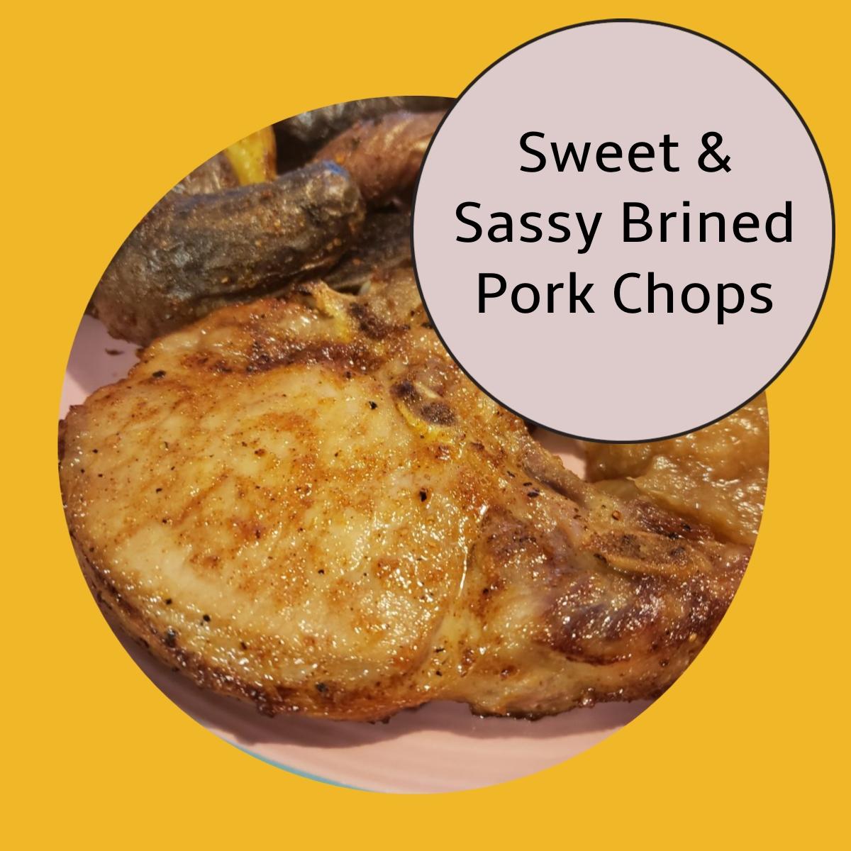 pork chops brined