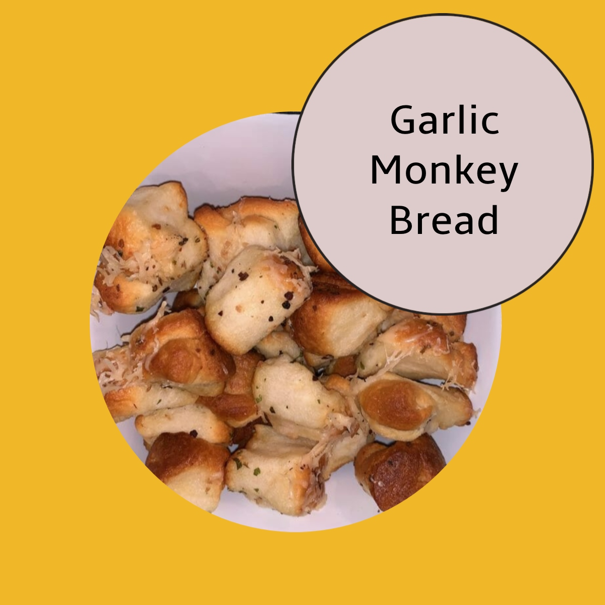 best monkey parmesan garlic bread